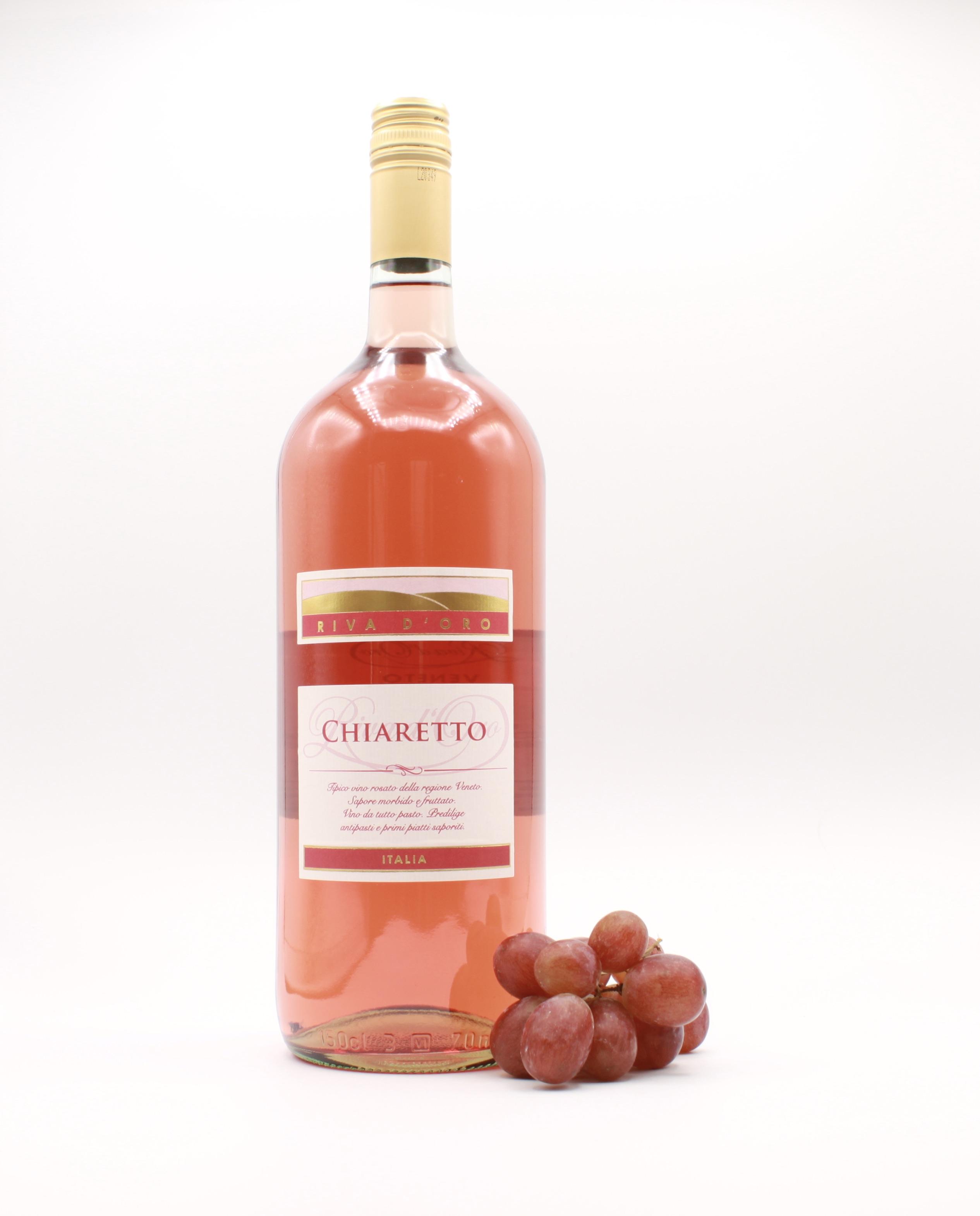 Chiaretto Rosato - Riva d´Oro, Italienischer Roséwein 1,5l