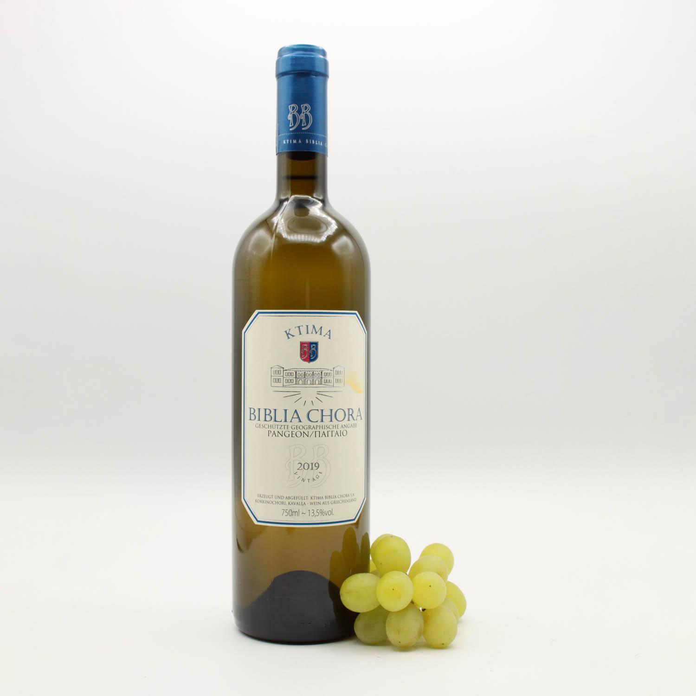 Ktima Biblia Chora, Griechischer Weißwein