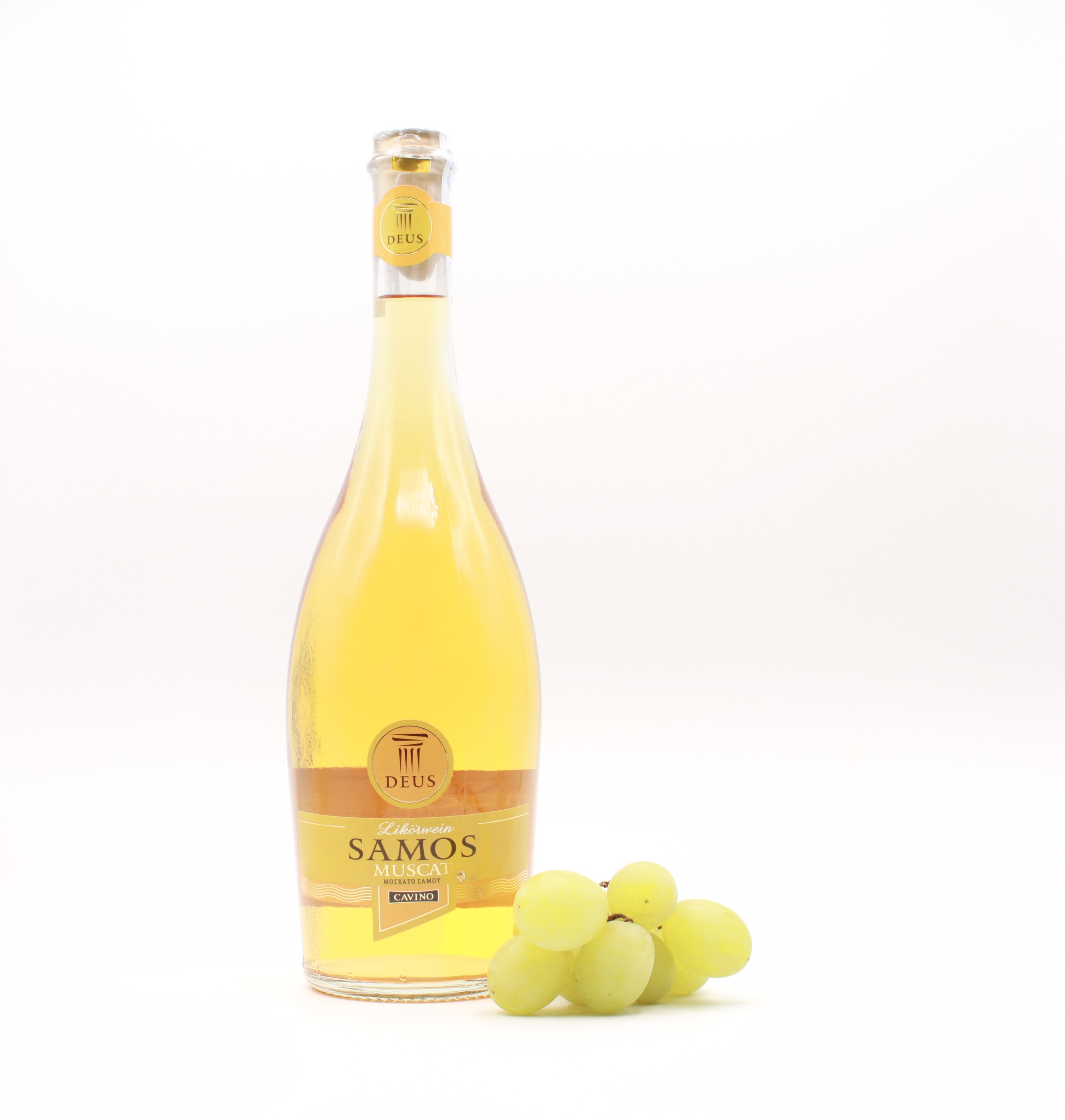Cavino Deus Samos Muskat Likörwein süß 0,75l