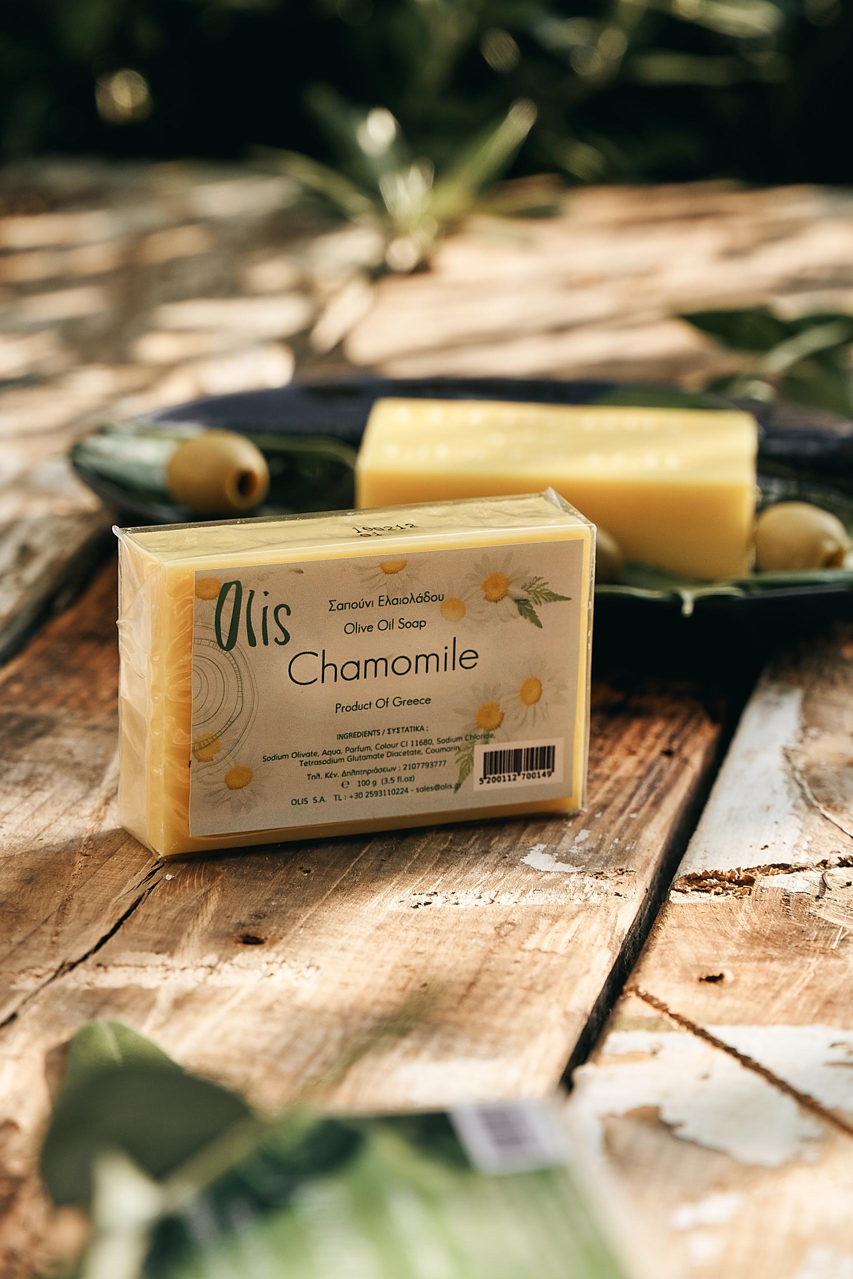 Olivenseife Kamille, Olivenölseife - Olis