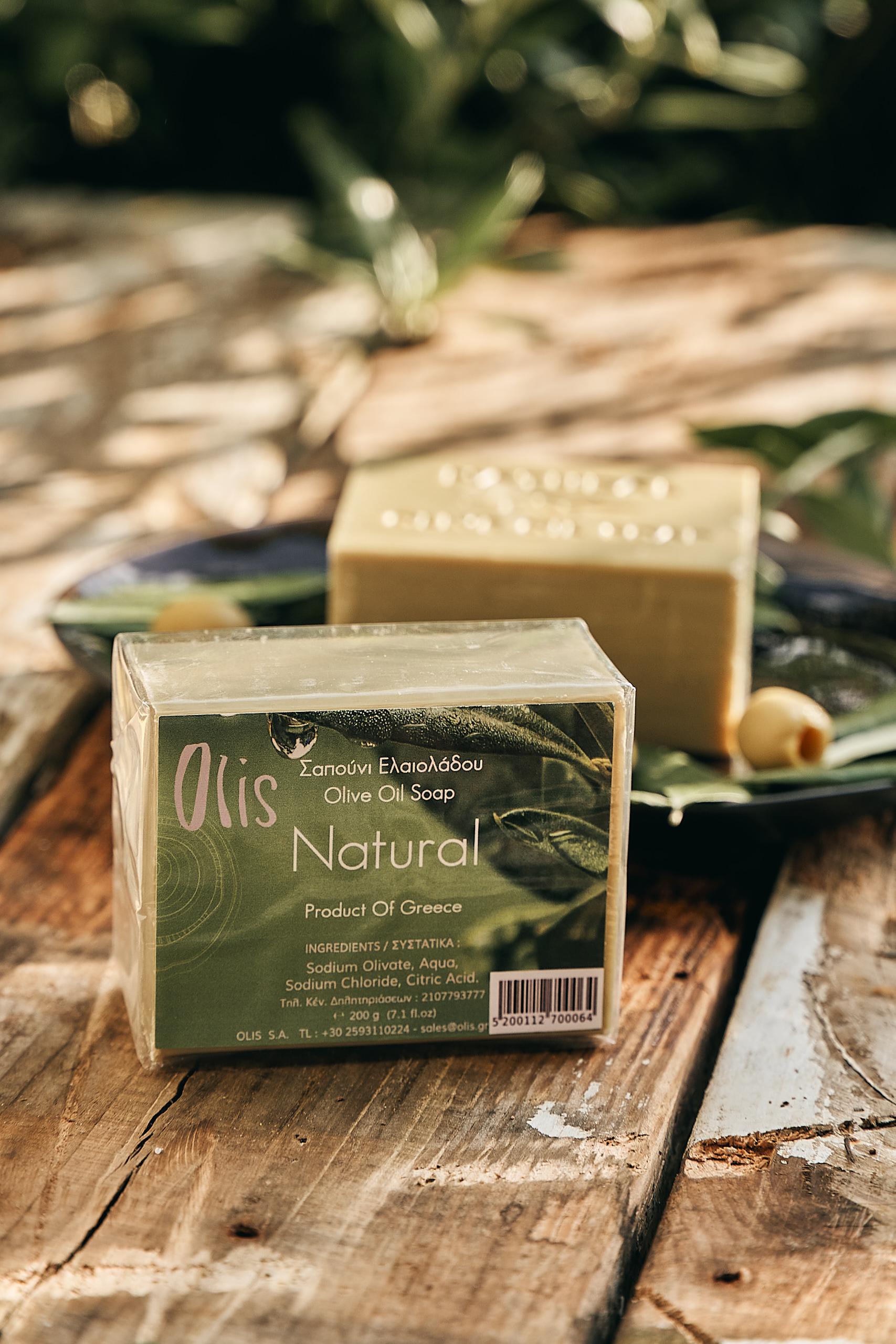Olivenseife natural, Olivenölseife - Olis